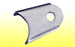 "Gusseted Chassis Bracket - 1/8"" CM, 1/2"" hole"