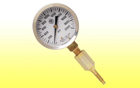 Quick Check Pressure Gauge