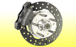 Wilwood Front Brake Kit-Drilled Rotor-Camaro '67-'69/Nova'67-'74
