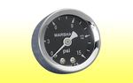 "Fuel Pressure Gauge 1-5/8"" - 0 to 15psi Dry"