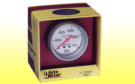 Autometer - Ultra-Lite Oil Pressure Gauge