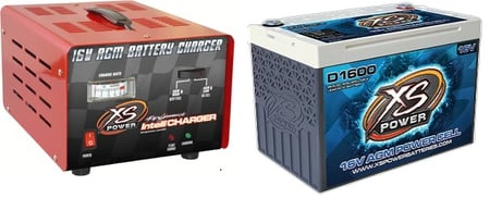 Battery and Charger Package