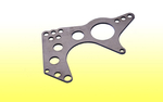 "A.R.T. / J.B.R.C. 4-Link Housing Bracket - 1/4"" MS, 5/8"" Holes"