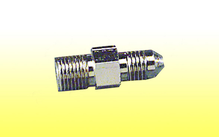 "Male Pipe / Male Flare - 1/8"" NPT to #3 AN"