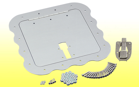 Access Door Kit- Clear Anodized