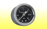 "Fuel Pressure Gauge 1-5/8"" - 0 to 15psi Liquid Filled"