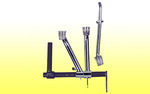 "Brake pedal rod (3/8"" thread)"