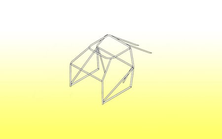 Roll Cage Kit - 8 Point M/S