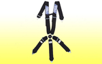 "5 Point 3"" Harness, Camlock - Stroud Belt Stroud"