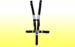 "5 Point 3"" Harness, Latch Release - Stroud"