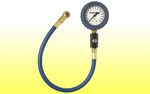 "Air Gauge Glow-In-The-Dark 2-1/2"", 0-15"