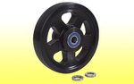 Wheelie Bar Wheel Pro Slimline w/ Roller Bearing