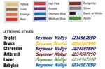 Decal Package - Complete - 1-Color