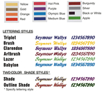Decal Package - Complete - 2-Color